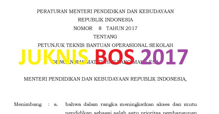 Image Result For Download Juknis Permendikbud A