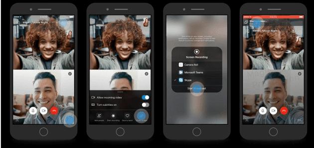 ميزة مشاركة الشاشة على سكايب ستتاح قريباً لمستخدمي هواتف iOS والأندرويد