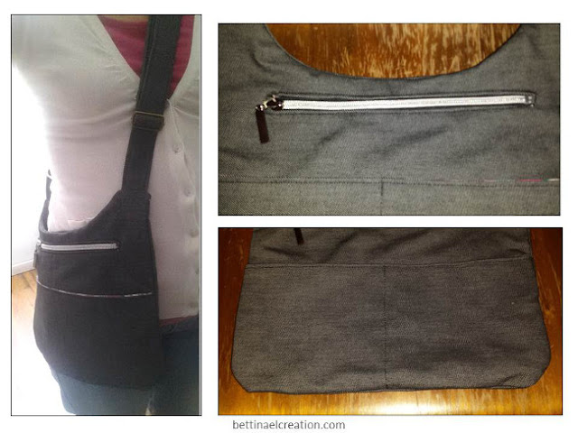 Diy sac bandoulli re homme ou femme bettinael passion - Tuto couture sac besace ...
