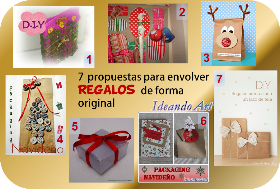 Regalos bonitos para navidad papeles bonitos para - Envolver libros de forma original ...