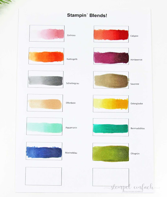 Stampin´ Blends Alkoholmarker Stampin Up