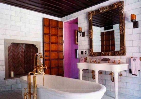 Home of Julian Schnabel, Palazzo Chupi Penthouse, NYC