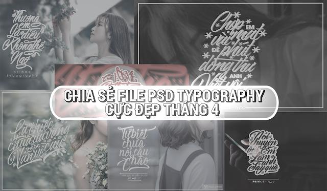 [SHARE] CHIA SẺ PSD TYPOGRAPHY CỰC ĐẸP