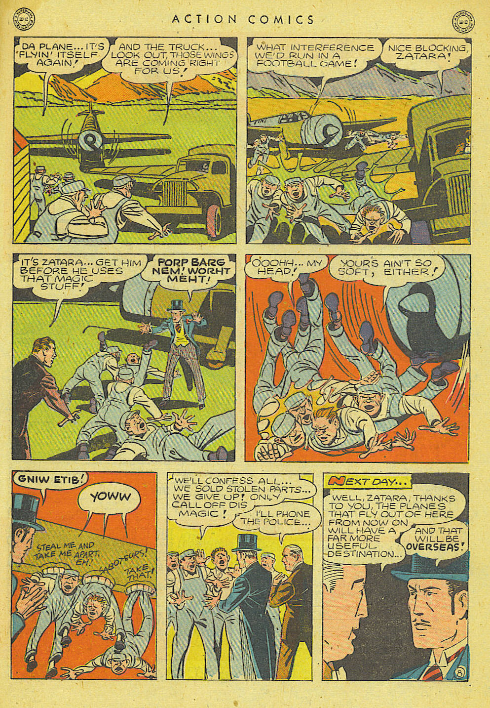 Read online Action Comics (1938) comic -  Issue #78 - 43