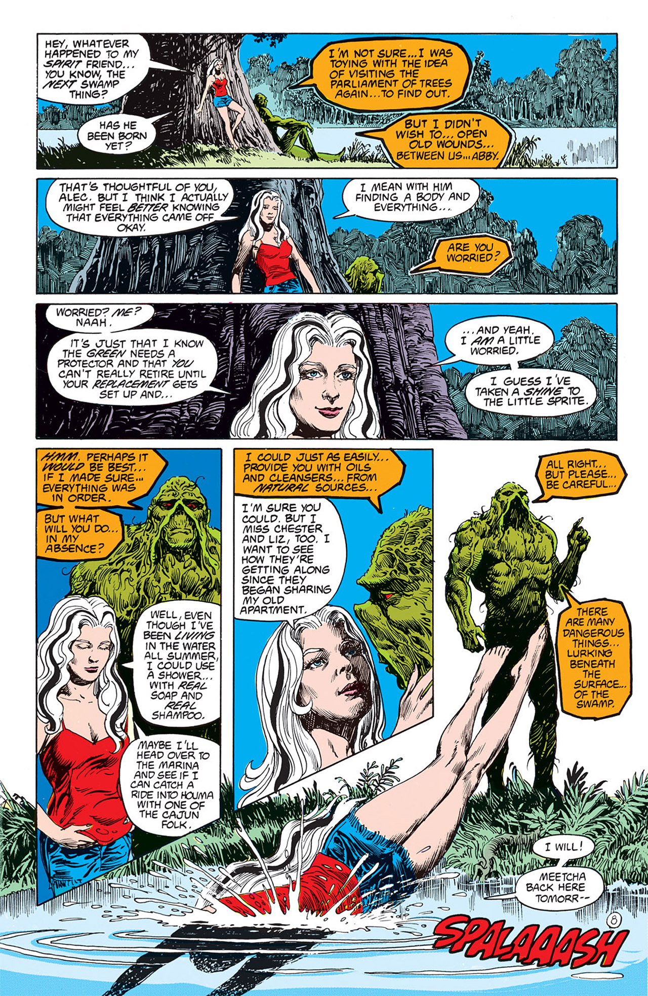 Swamp Thing (1982) Issue #67 #75 - English 10