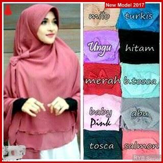 RYB017B Hijab Jilbab Cantik Khimar Murah Aisyah BMG Online Shop