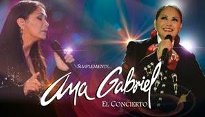 Concierto de Ana Gabriel en Bogotá 2014