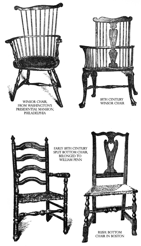 Early Colonial Furnishings from The United States