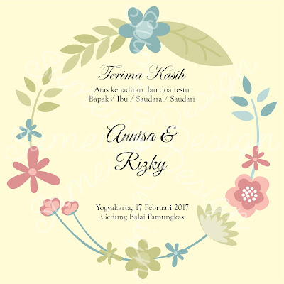 Kumpulan Kartu Untuk Souvenir Pernikahan Yang Unik Dan Cantik
