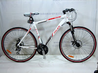 700C Element Police 911 Saint John's 24 Speed Shimano Acera Hybrid Bike 1