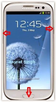Hard Reset SAMSUNG Galaxy S3 GT - I9300