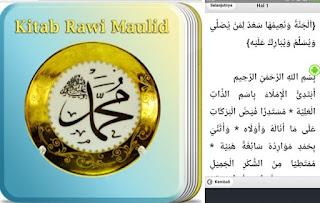 Aplikasi Barzanji, Kitab Rawi Maulid Lengkap di Android