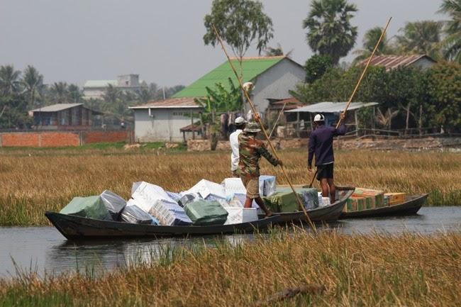 Buôn lậu trên vùng biển Kiên Giang diễn biến phức tạp