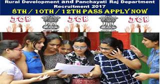 Rural development department, Himachal Pradesh Recruitment 2017 - For 402 post Gram panchayat & Village resource person