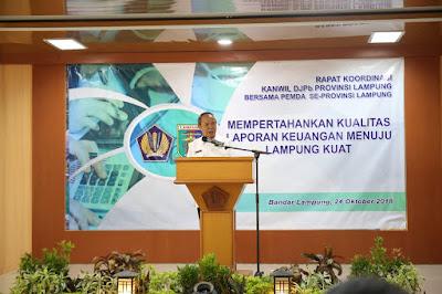 Pemprov dan 12 Pemerintah Kab/ Kota se-Lampung Peroleh WTP dari BPK RI