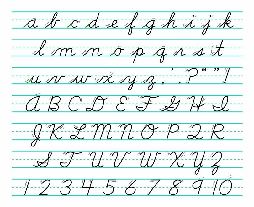 Learning Cursive Handwriting  Hand Writing