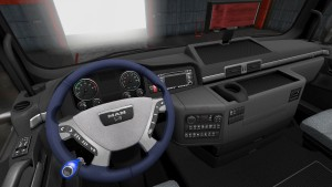 MAN New Style Steering Wheel