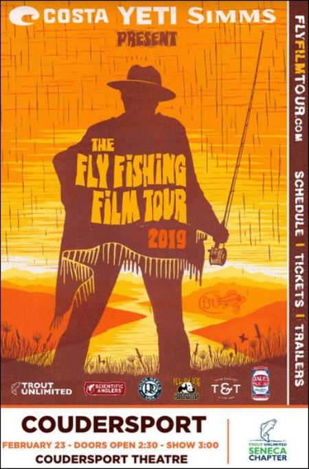 2-23 Fly Fishing Film Tour, Coudersport