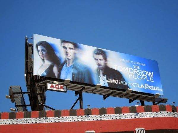 Tomorrow People The CW series premiere billboard