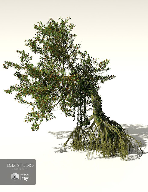 RPC Volume 5: Jungle Rainforest 2 for Daz Studio and Vue