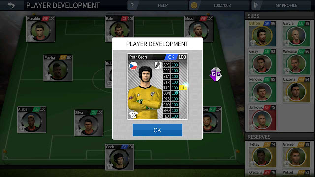 cara cheat unlimited player development dream league soccer 2016