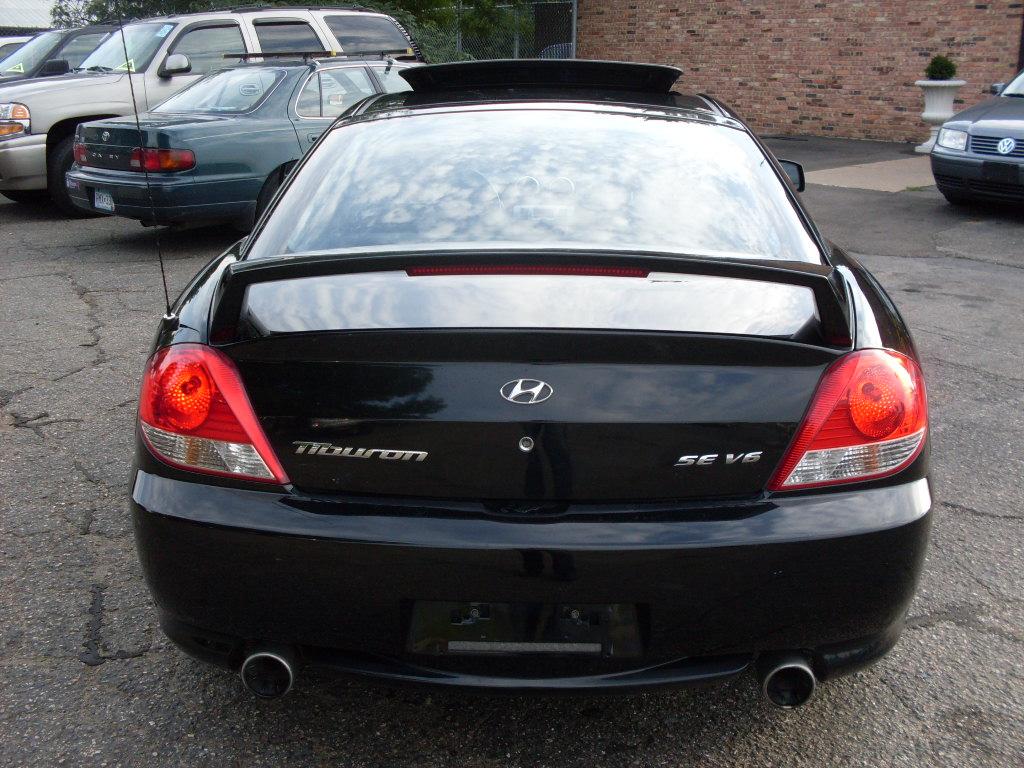 Ride Auto 2006 Hyundai Tiburon Black