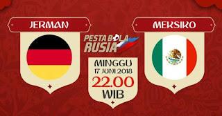 Susunan Pemain Jerman vs Meksiko - Piala Dunia 2018