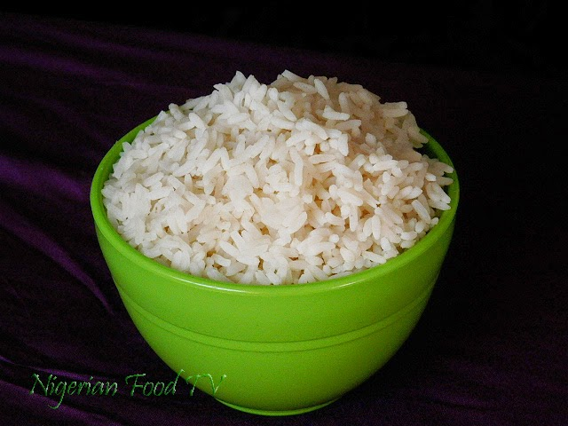 "How to Boil ""Non-soggy"" White Rice for Nigerian Stews and Sauces"