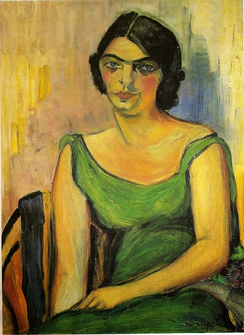 Fernando de Castro - Anita Malfatti e suas principais pinturas ~ Pintora brasileira
