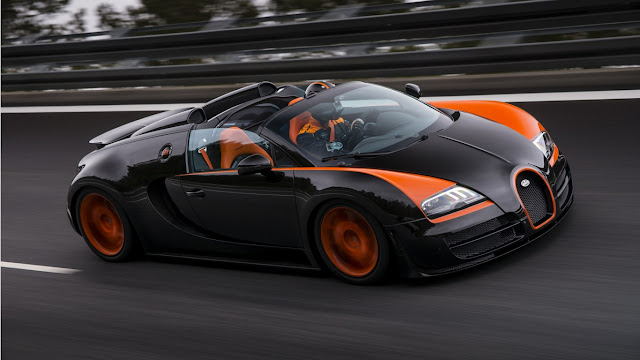 Bugatti Veyron Super Sports – $2.4 mil