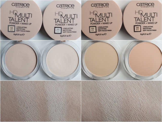 catrice, HD Multitalent, Powder and Make Up, Swatch