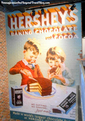 Hershey's Chocolate World in Hershey Pennsylvania