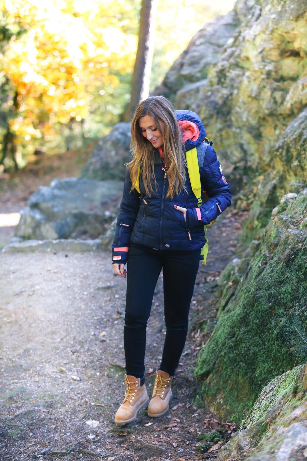 Hiking Time Was Trage Ich Auf Einer Wanderung Durch Den