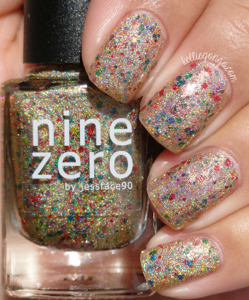 Nine Zero Lacquer Golden Lights
