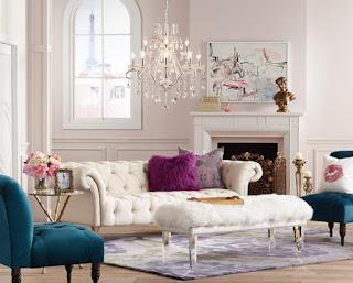 desain ruang keluarga sempit