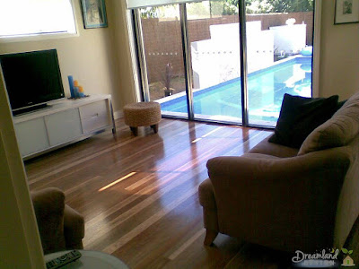 Renovation with new flooring