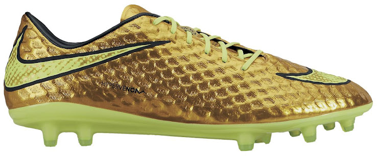 quality design b98cc e7851 Gold Neymar 2014 World Cup Hypervenom Boot Unveiled - Footy ...