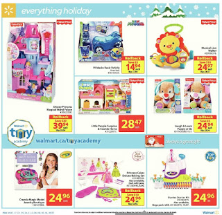 Walmart Flyer Weekly December 14 - 24, 2017 Great Gifts