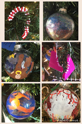 Simple ornaments any child can make!