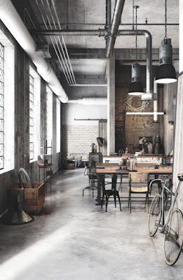 estilo industrial / neoyorquino