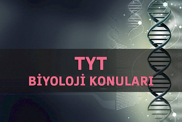 2018 tyt biyoloji konularu