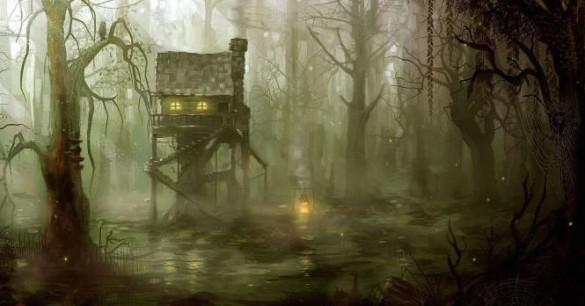 Voodoo, Hantu, Dan Manusia Serigala Di Rawa Terkutuk