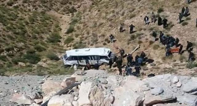 وزارة الصحة: آخر احصائيات  حادث إنقلاب حافلة سياحية بمطماطة تحديدا دخيل توجان  5 وفيات و20 مصابا
