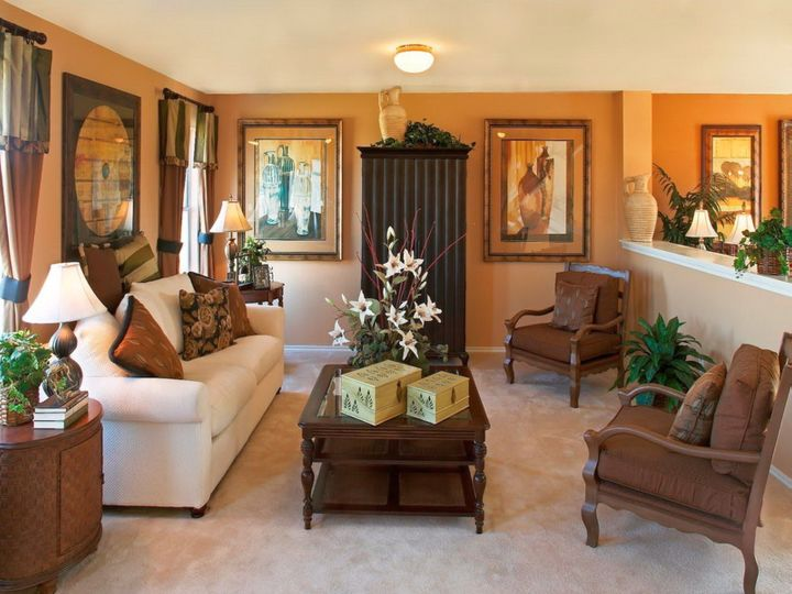 Marvelous Brasada Tuscan Living Room Design