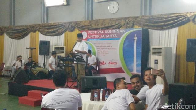 Anies Baswedan Terima Dukungan dari Paguyuban Warga Kuningan Jawa Barat