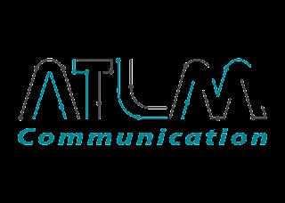 Atlm communication Logo Vector