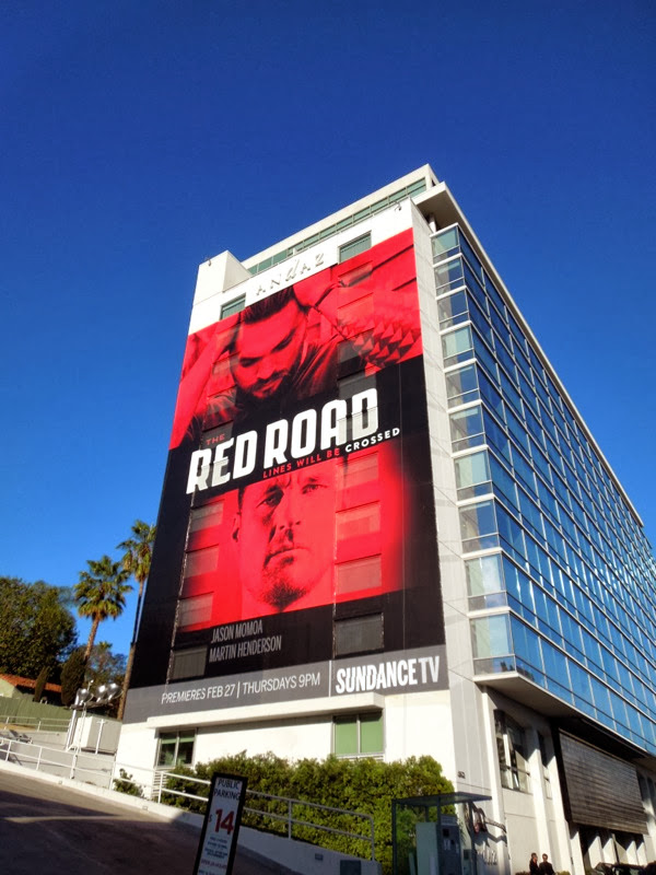 Giant Red Road season 1 billboard