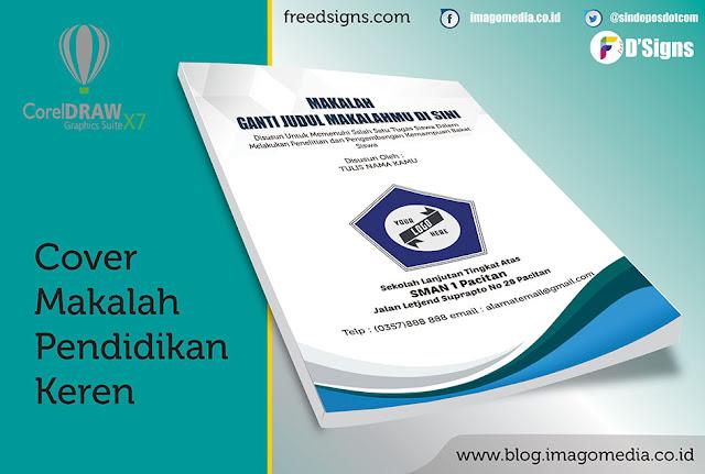 Contoh  Cover Makalah Penelitian Tingkat Sekolah