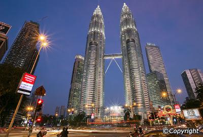 the petronas towers, en uzun gökdelenler
