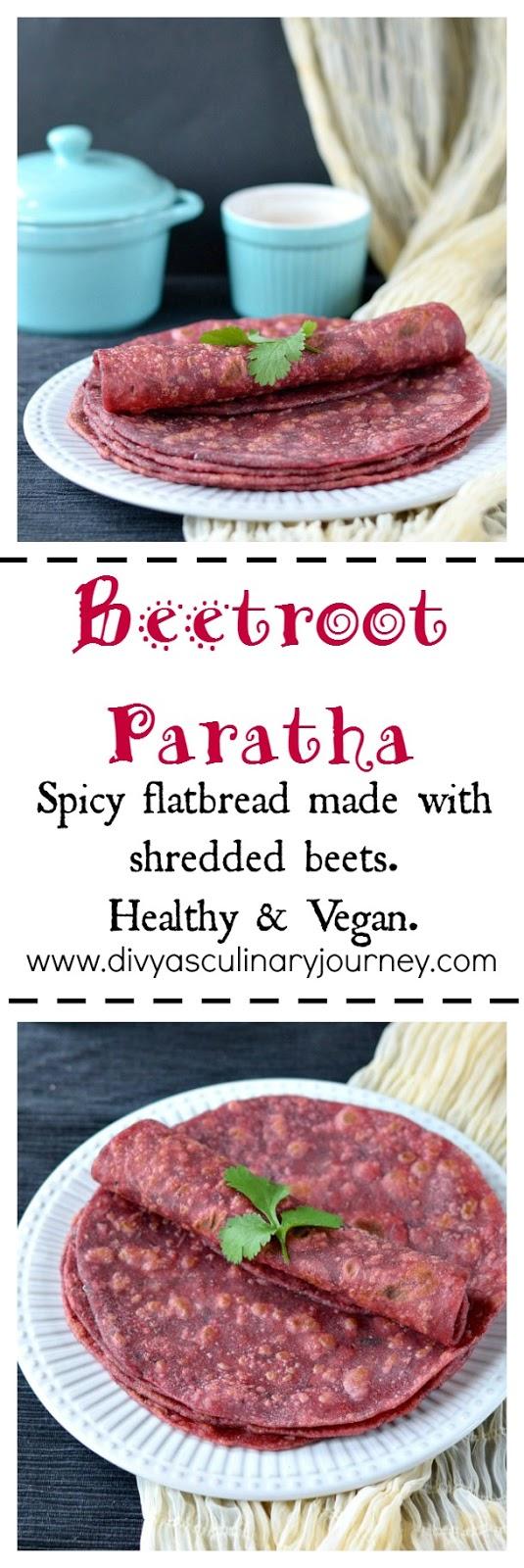 beetroot paratha, healthy recipes using beets, kid friendly recipes